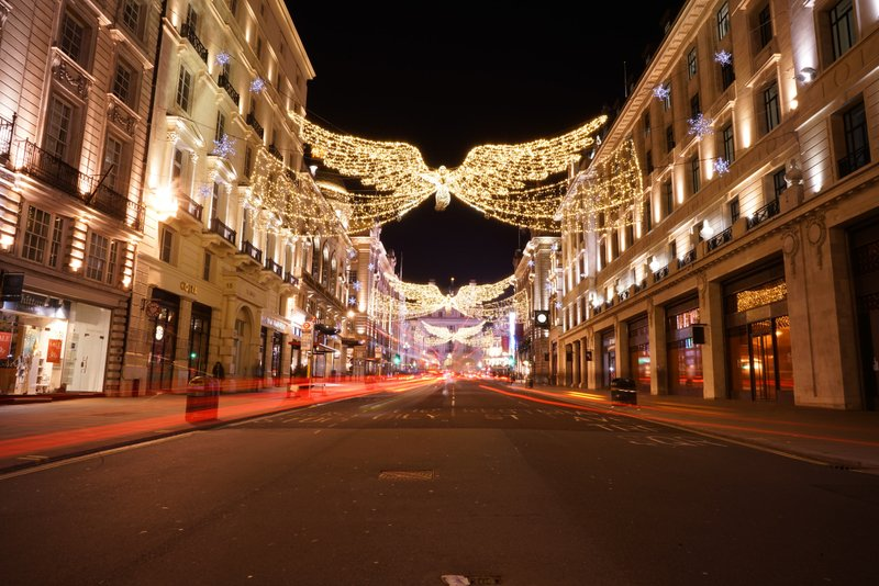 London Christmas Lights Private Car Experience
