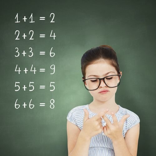 Help for children who have difficulties with maths