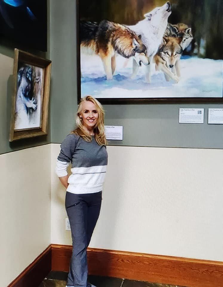 Charice Cooper Endangered Species Exhibit