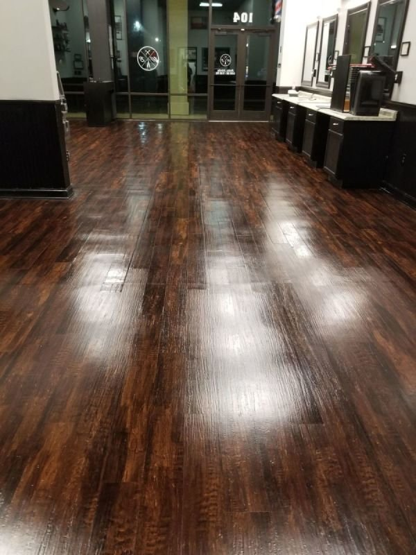 Floor Polishing & Sealing