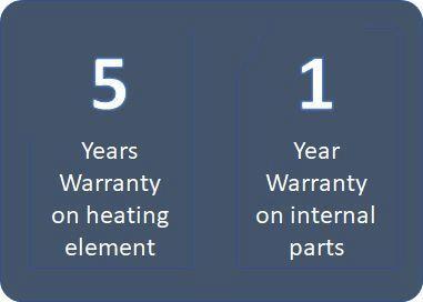 Bravat Equatre: Walkaline 5 years warranty