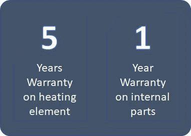 Electric Tap: Warranty (Malaysia & India)