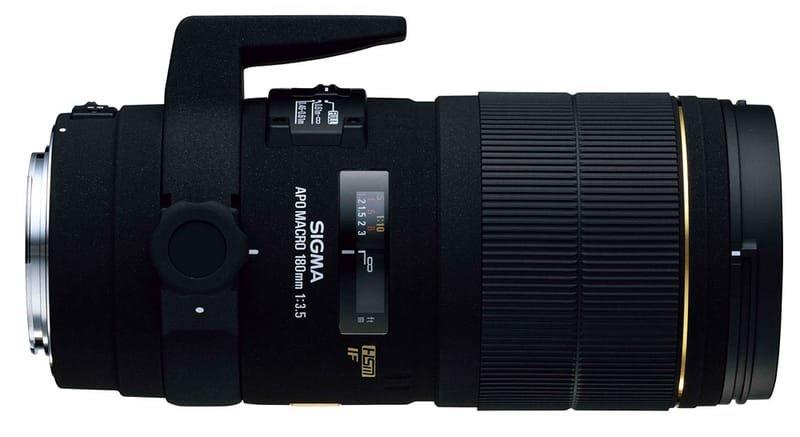 Sigma 180mm f/3.5 EX APO Macro HSM - per Canon