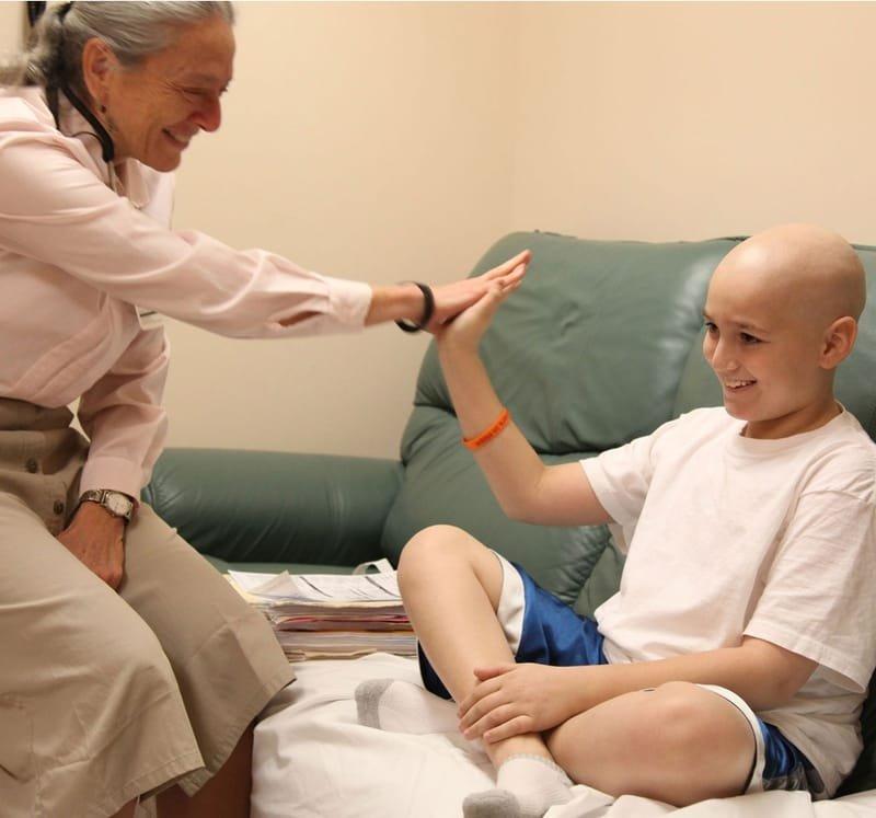العناية بمرضي السرطان والعلاج التلطيفي