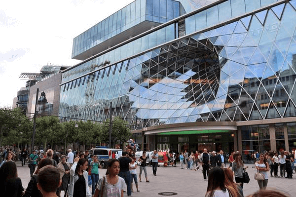 شارع زيل من افضل اماكن سياحية في فرانكفورت المانيا