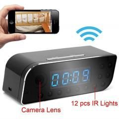 P2P Wifi HD Clock Camera