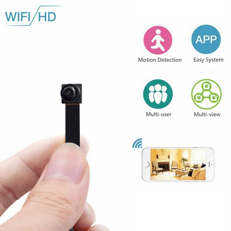 Mini Wireless WIFI Spy Hidden Camera - 1