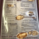 Photo of Jorge's Cafe - Ruidoso Downs, NM, United States. Breakfast Menu