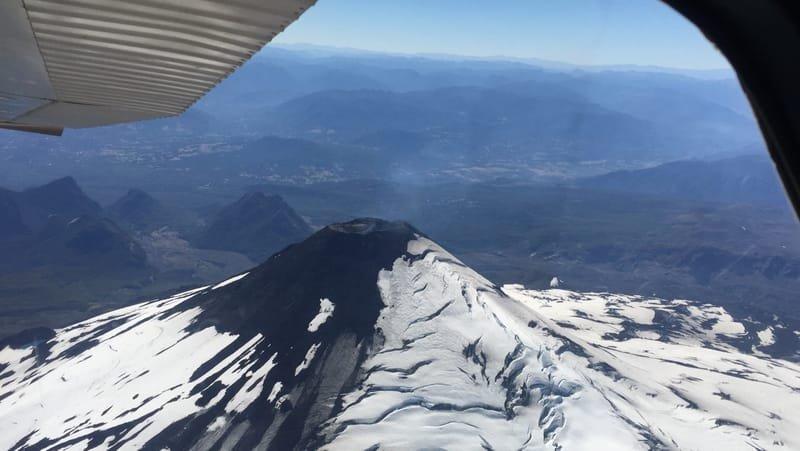 Sobrevôo Vulcão Villarrica