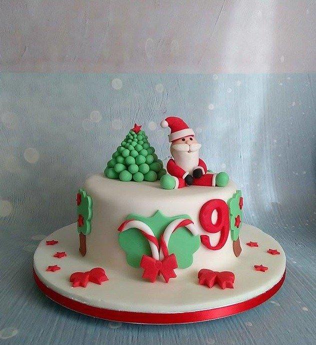 παιδική τούρτα γενεθλίων απο ζαχαρόπαστα άγιος βασίλης, ζαχαροπλαστείο καλαμάτα madamecharlotte.gr, birthday cakes kalamata