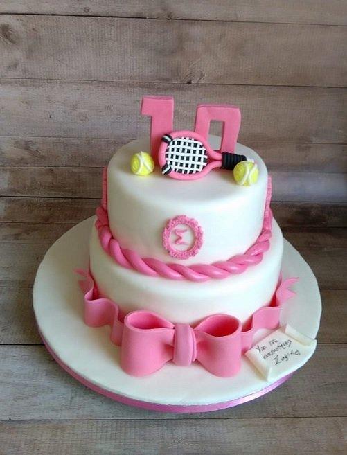 τούρτα γενεθλίων απο ζαχαρόπαστα άθλημα τένις tennis, ζαχαροπλαστείο καλαμάτα madamecharlotte.gr, birthday cakes kalamata