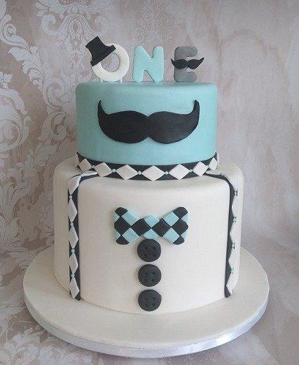 τούρτα παιδική γενεθλίων απο ζαχαρόπαστα mister one year old, ζαχαροπλαστείο καλαμάτα madamecharlotte.gr, birthday cakes kalamata