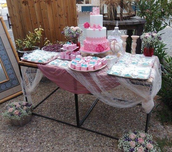 μπουφέ γλυκών βάπτισης Ζαχαροπλαστειο καλαματα madame charlotte, birthday baptism theme cakes kalamata