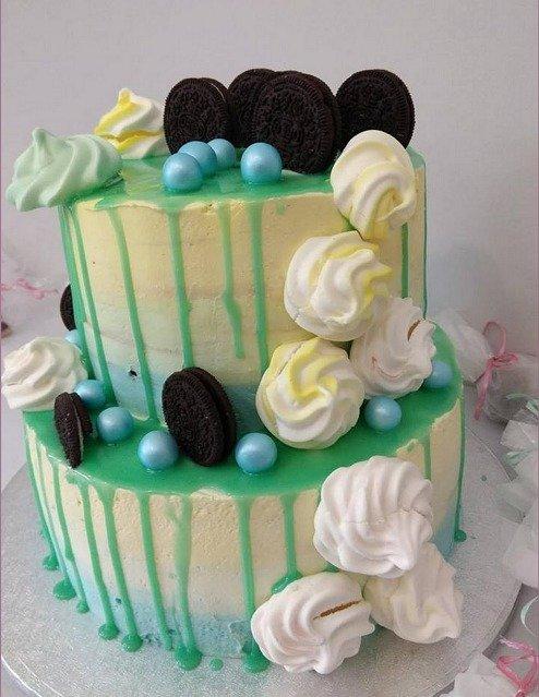 τούρτα χωρίς ζαχαρόπαστα oreo, madame charlotte ζαχαροπλαστείο καλαμάτα, wedding cakes kalamata