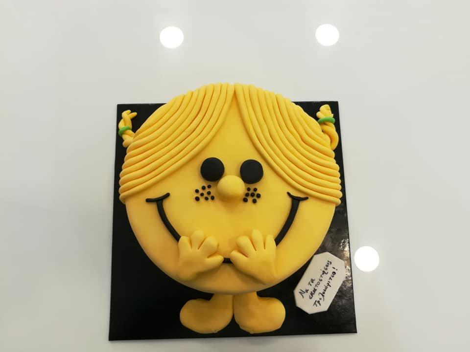 τούρτα από ζαχαρόπαστα η κυρία γελαστουλα, Ζαχαροπλαστειο καλαματα madame charlotte, τουρτες παιδικες γενεθλιων madamecharlotte.gr birthday cakes kalamata