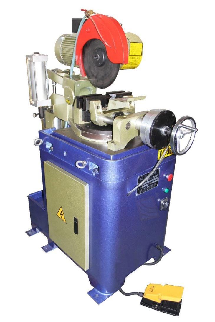 Pneumatic Semiautomatic Pipe Cutting Machine