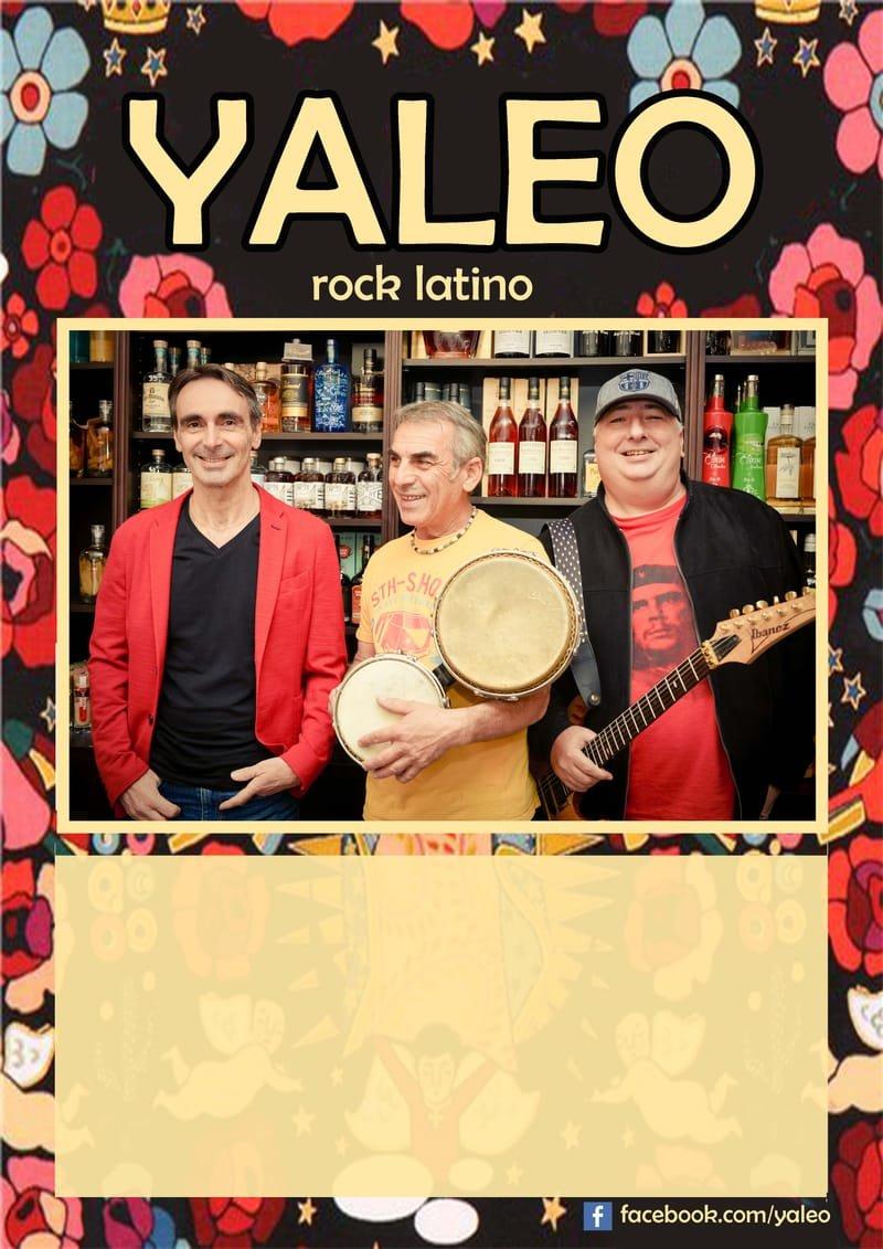 YALEO, tribute SANTANA et covers pop, rock, latino