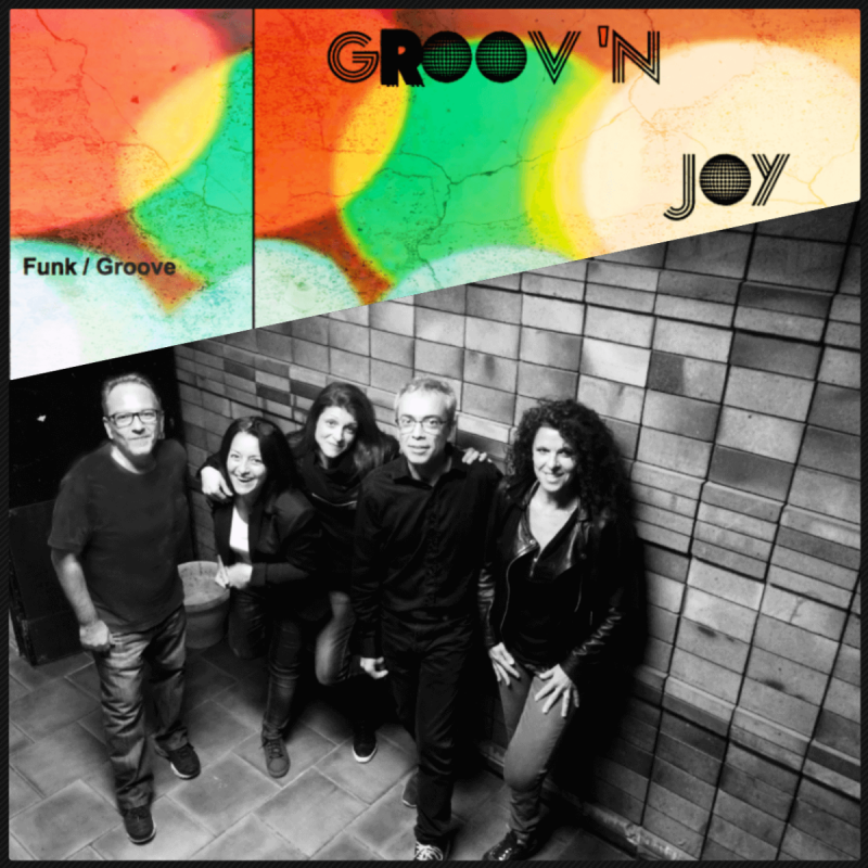 GROOV ' JOY quintet , funk, groove