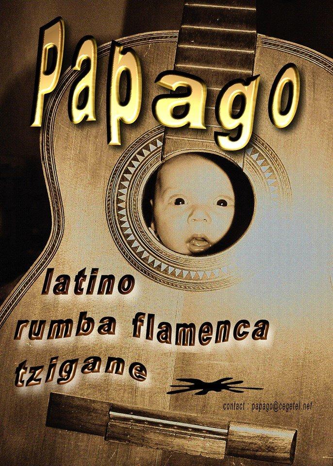 PAPAGO duo ,rumba flamenca avec un zeste de ritmo latino russe