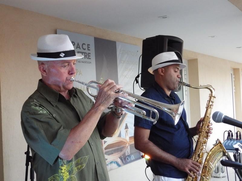 JACKSON ET MARC, duo sax - trompette  jazz, variétés musette