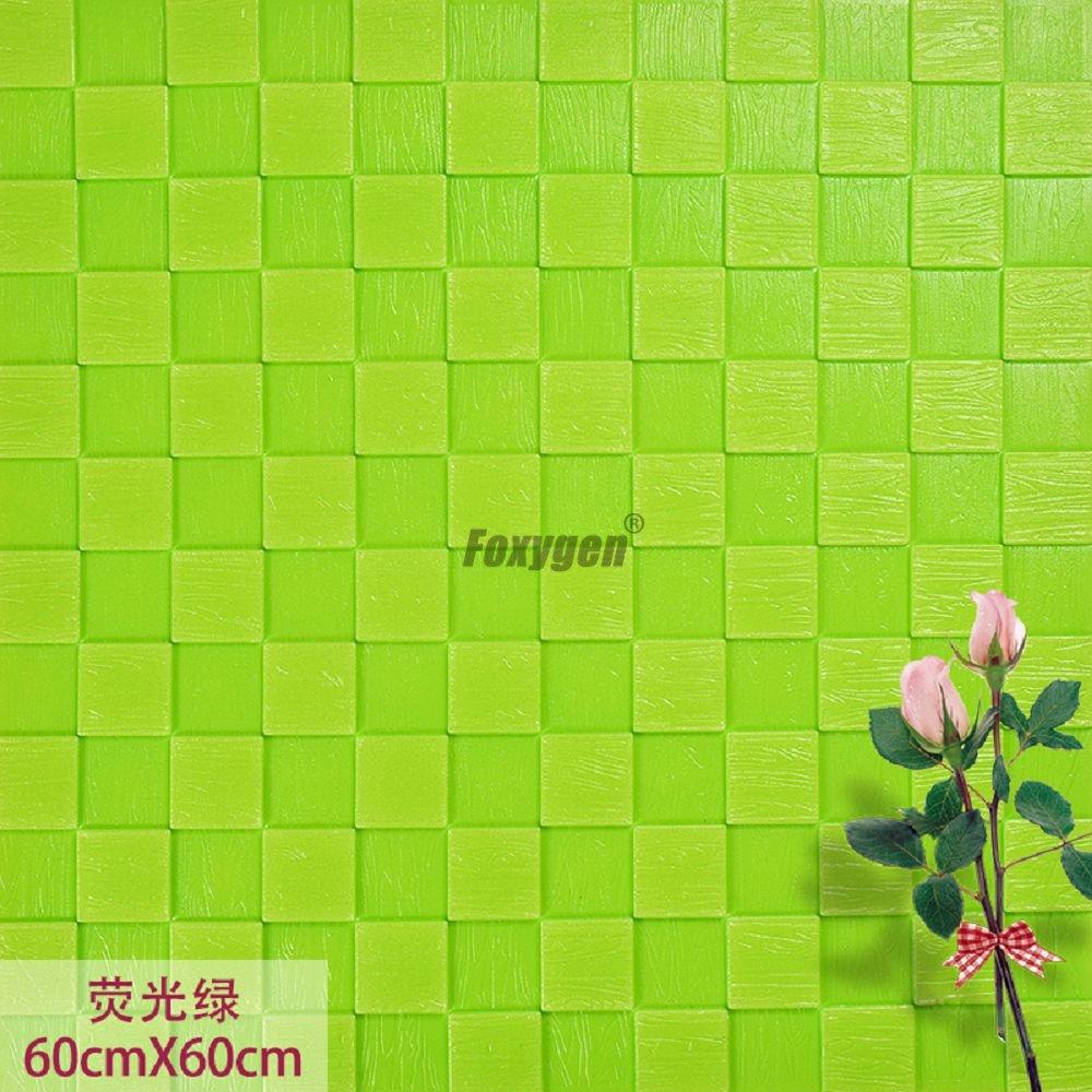 Kids foam bricks wall decor Mosaic 3d pe foam Brick and Stone design Wallpaper