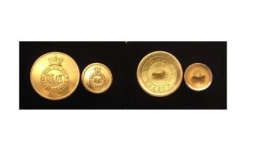 Mess Dress Lapel Badges and Buttons