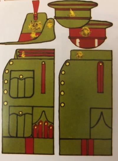KC Service Dress 1901-04