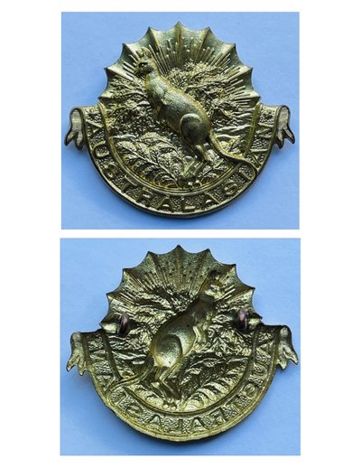 Australasian Squadron Other Ranks' Headdress Badge - Copy