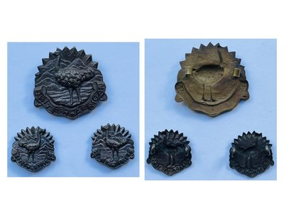 British African Other Ranks' Headdress Badge - Copy