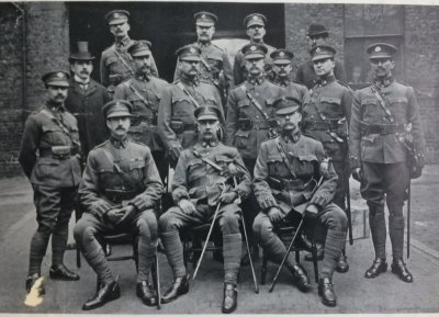 KC/KEH Officer's Nominal Rolls - 1902, 1905, 1910, Aug 1914 & 1919