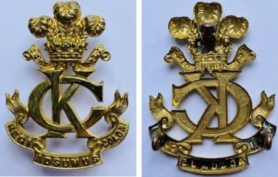 Second Pattern Regimental Other Ranks' Headdress Badge -  Genuine and Copy