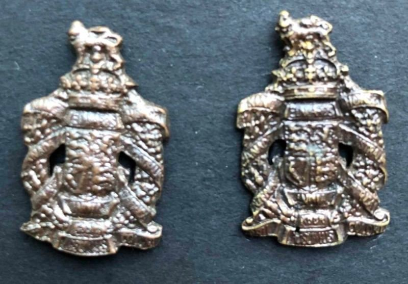 First Pattern Officer's Collar Badges