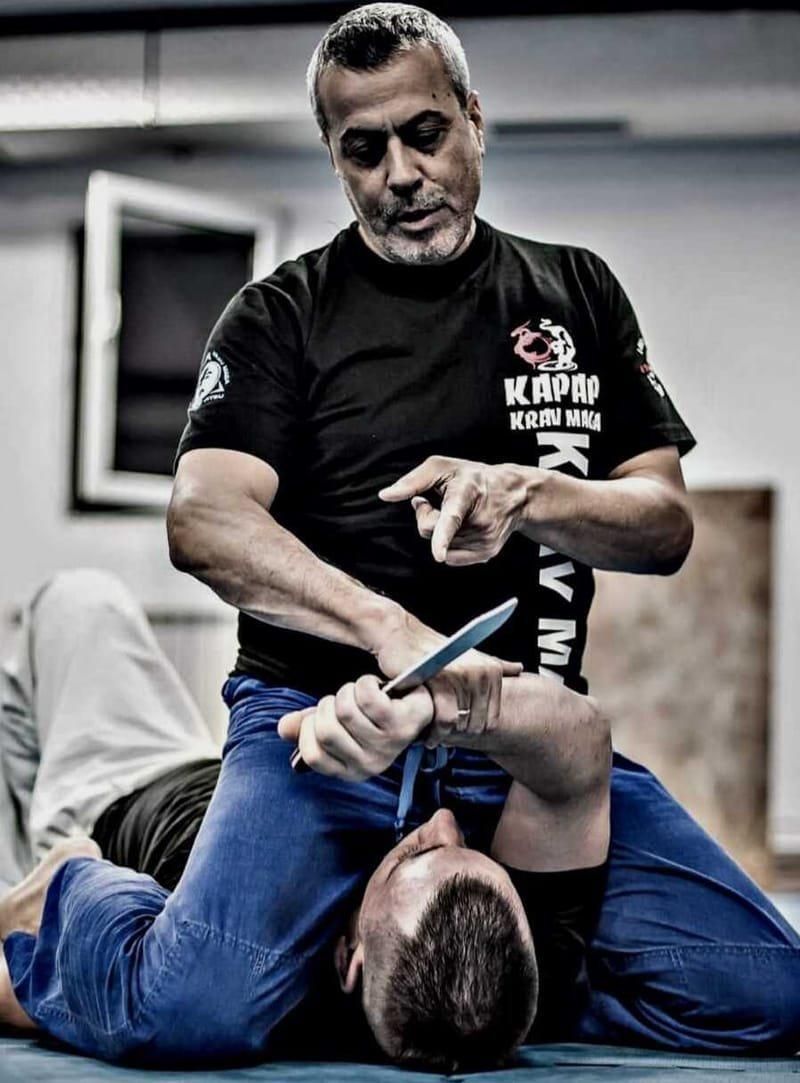 Curso intensivo de instructor de Kapap