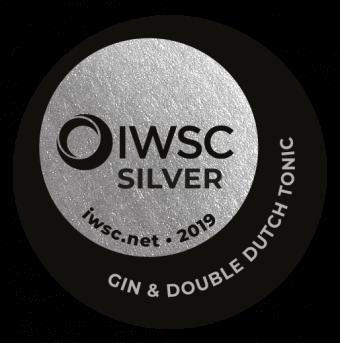 IWSC 2019 : GIN & TONIC Silver Medal