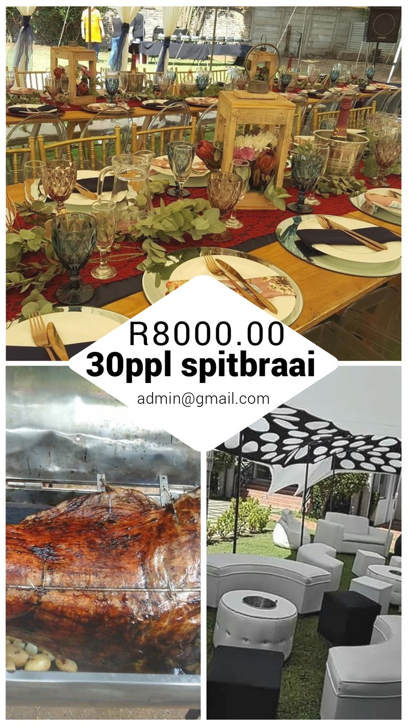 Spitbraai with function equipment