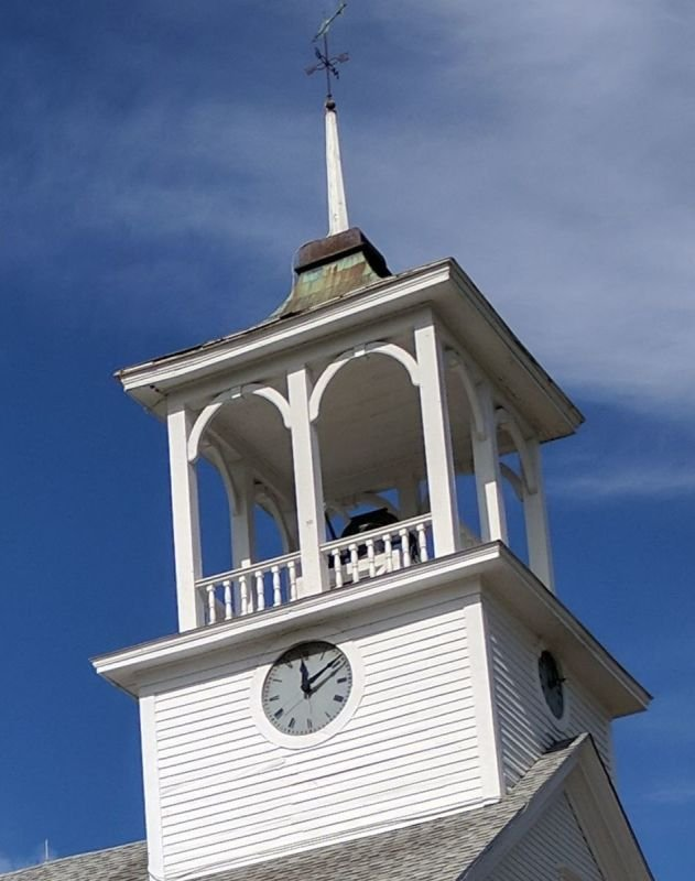 OUR STEEPLE CLOCK