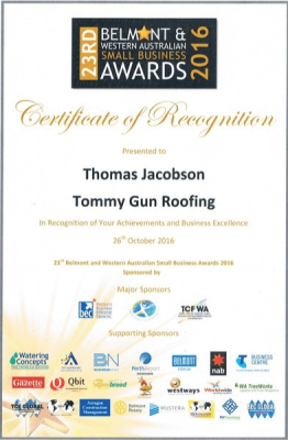 About Tommy Gun Roofing