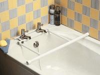 Image of a tap-fixed bath rail