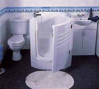 Image of a walk-in bath