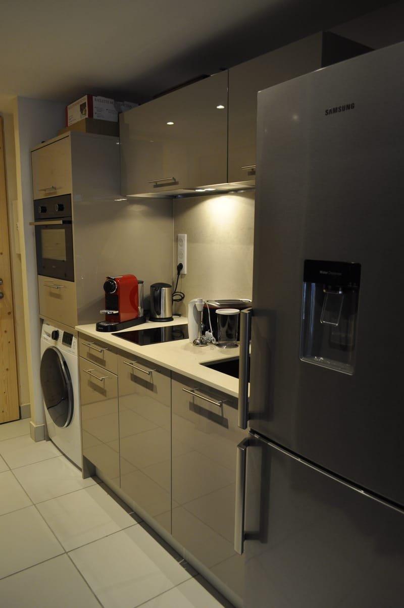La kitchenette et son équipement