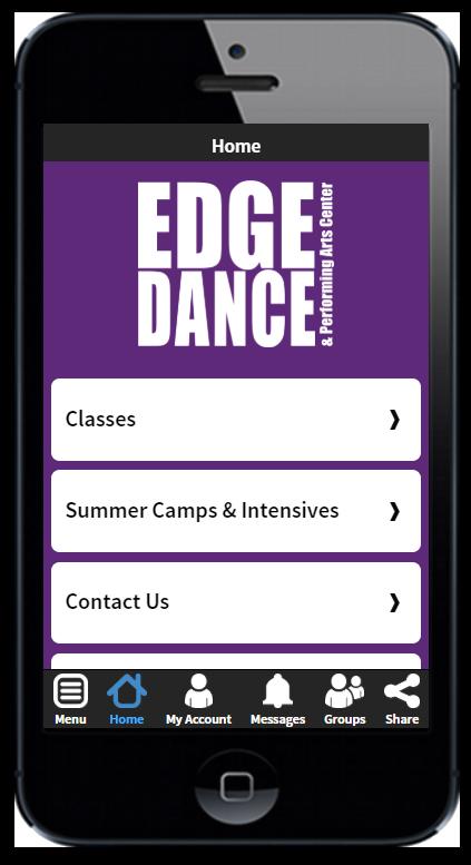 Get The Edge Dance App Today!