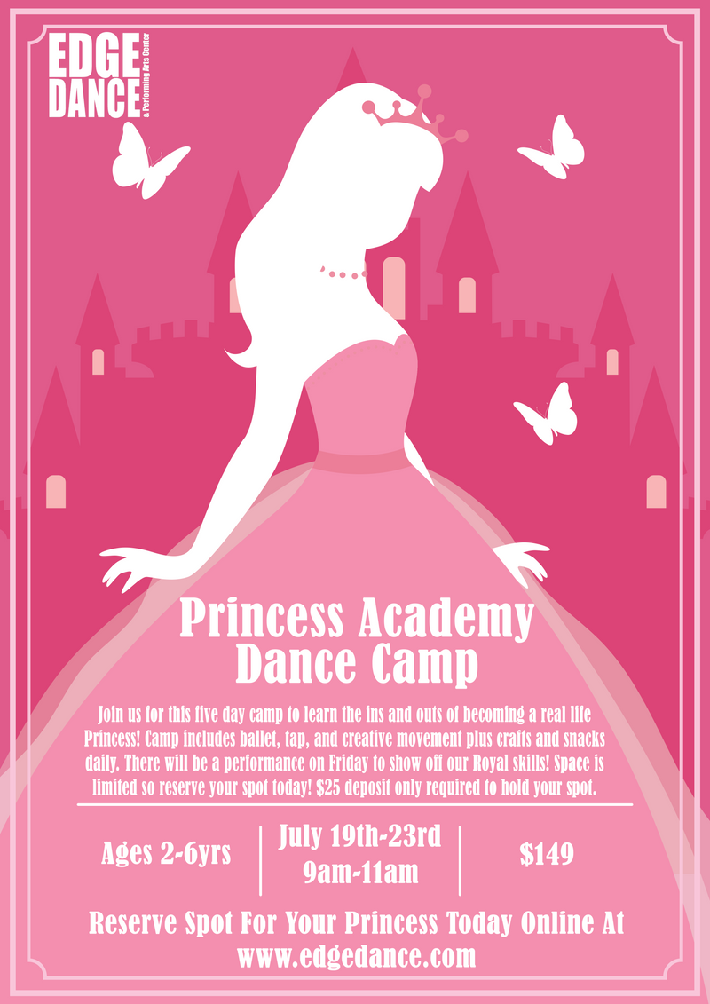 Princess Academy Dance Camp