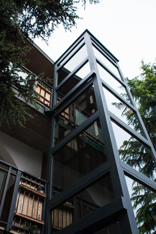 winda do bloku zewnętrzna