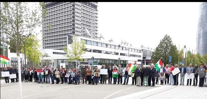 مضمون رسالة الوقفة الإحتجاجية أمام ممثلية الأمم المتحدة في بون بخصوص عفرين