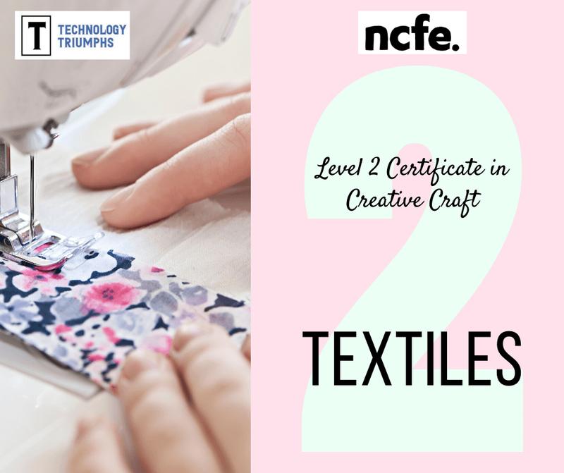 Level 2 Certificate in Creative Craft Textiles