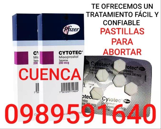 VENTA DE PASTILLAS ABORTIVAS CYTOTEC EN CUENCA 0989591640