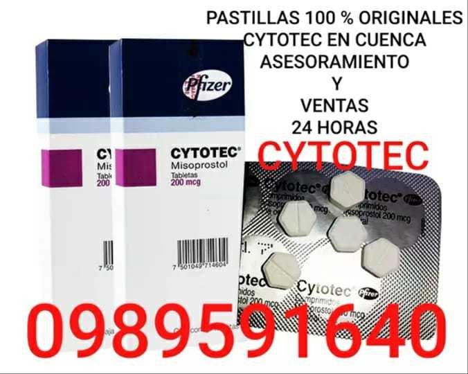 PASTILLAS PARA ABORTAR CYTOTEC EN CUENCA 0989591640