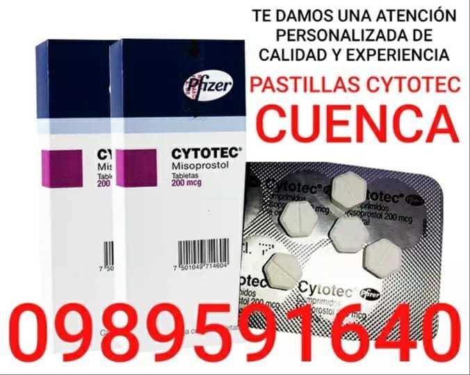 CYTOTEC MISOPROSTOL PASTILLAS ABORTIVAS EN CUENCA 0989591640