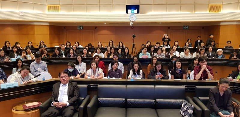 สมาคมฯ ได้รับเชิญไปบรรยายเกี่ยวกับธุรกิจลีสซิ่งให้สรรพากร