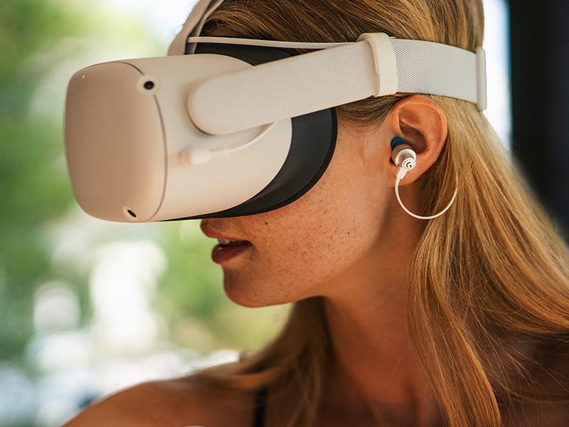 Logitech G333 VR Gaming Earphones